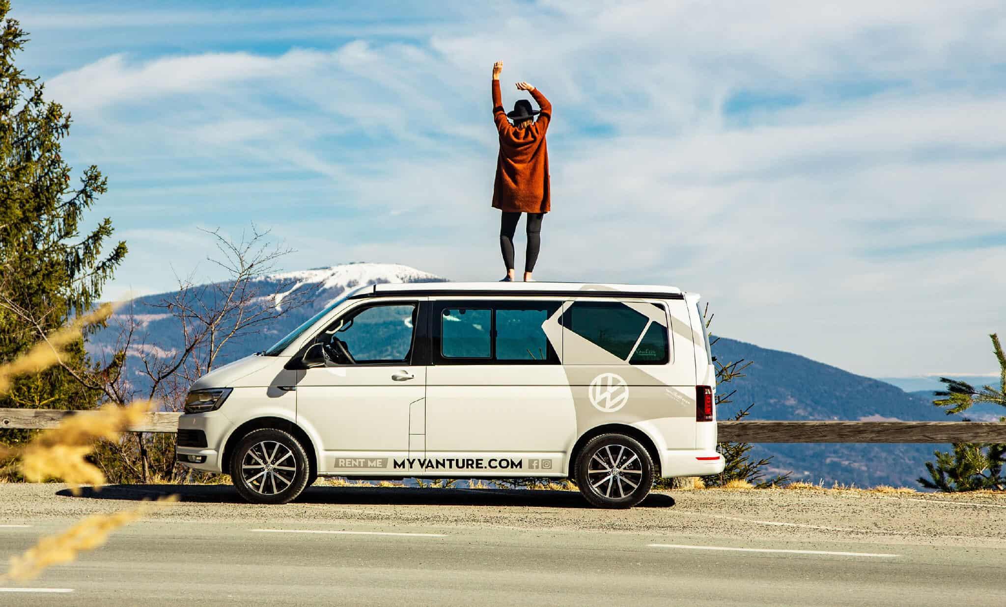 My Vanture - Deine VW California Campingbusvermietung!